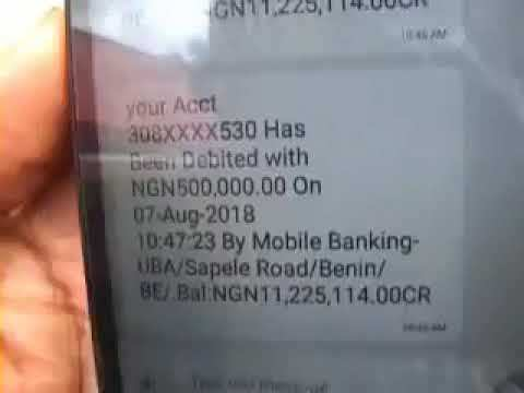 how to do a fake bank alert in Nigeria